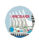 click here to view larger image of Vancouver (hand painted canvases)