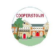 click here to view larger image of Cooperstown (hand painted canvases)