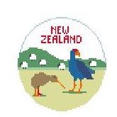 click here to view larger image of New Zealand (hand painted canvases)