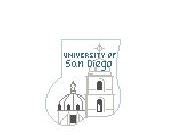 click here to view larger image of U Of San Diego Mini Sock (hand painted canvases)
