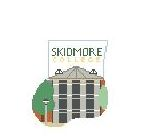 click here to view larger image of Skidmore College Mini Sock (hand painted canvases)