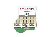 click here to view larger image of Haverford Mini Sock (hand painted canvases)