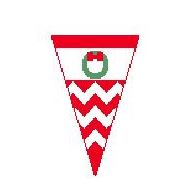 click here to view larger image of Christmas Pennant - O (hand painted canvases)