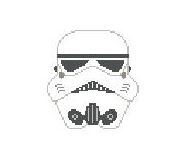 click here to view larger image of Sandtrooper (hand painted canvases)