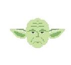 click here to view larger image of Yoda (hand painted canvases)