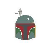 click here to view larger image of Boba Fett (hand painted canvases)