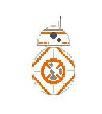 BB8 hand painted canvases