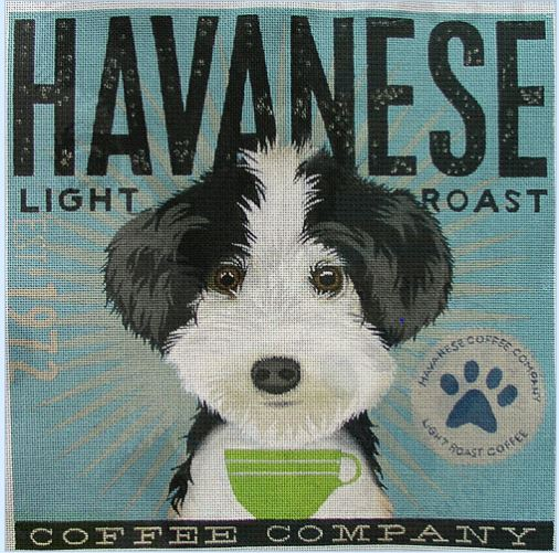 click here to view larger image of Havanese (Light Roast) (hand painted canvases)
