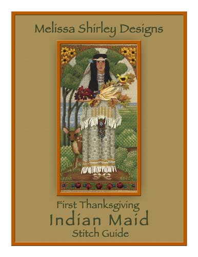 click here to view larger image of Indian Maid - Stitch Guide (books)
