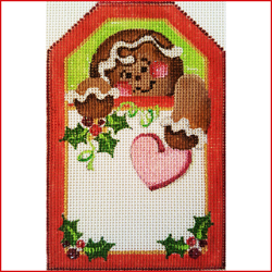click here to view larger image of Gingerbread Man (Christmas) (hand painted canvases)