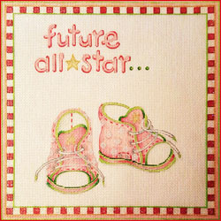 click here to view larger image of Future All Star (Girl) (hand painted canvases)