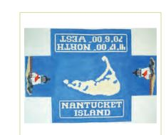 click here to view larger image of Nantucket Doorstop (hand painted canvases)