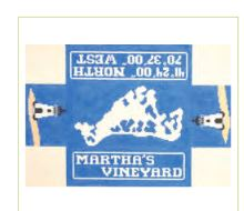 click here to view larger image of Marthas Vineyard Doorstop (hand painted canvases)