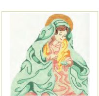 click here to view larger image of Mary (hand painted canvases)