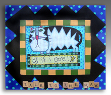 click here to view larger image of Frame For As If I Care (Custom painted frames)