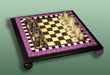 click here to view larger image of Chess Set (Custom painted frames)