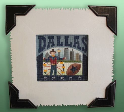 click here to view larger image of Frame For Dallas (Custom painted frames)
