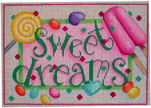 click here to view larger image of Sweet Dreams (hand painted canvases)