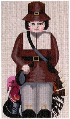 click here to view larger image of Mr Pilgrim (hand painted canvases)