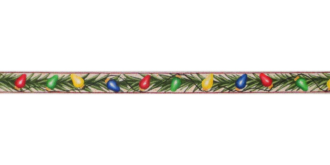 click here to view larger image of Tree Lights Belt (hand painted canvases)