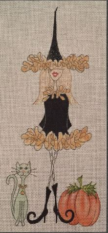 click here to view larger image of Witchy Woman (hand painted canvases)