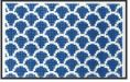 click here to view larger image of Dark Blue Scales Purse Insert (hand painted canvases)