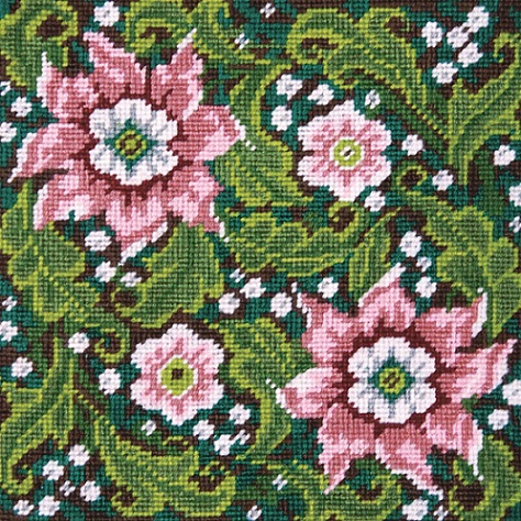 click here to view larger image of Artful Flowers (needlepoint kits)