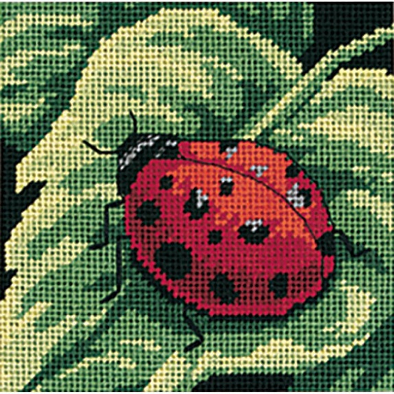 click here to view larger image of Ladybug, Ladybug... (needlepoint kits)
