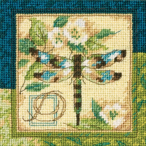 click here to view larger image of Dragonfly (needlepoint kits)
