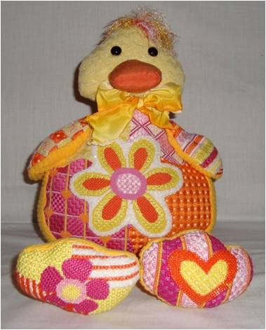 click here to view larger image of Daisy Duck (hand painted canvases)