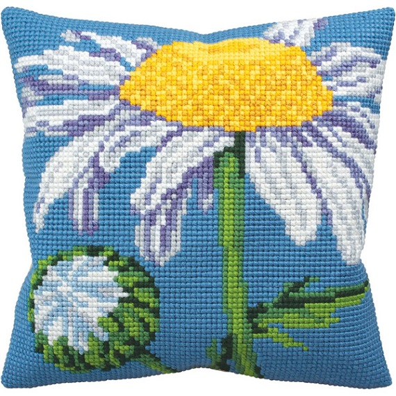 click here to view larger image of Marguerite (Daisy) (needlepoint kits)