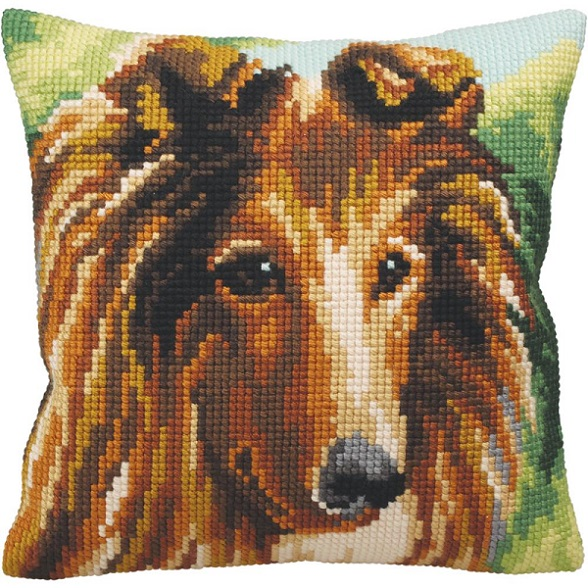 click here to view larger image of Lassie (needlepoint kits)