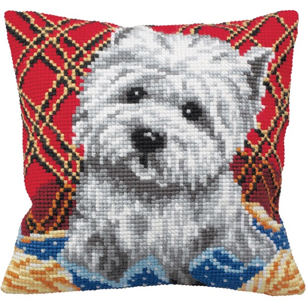 click here to view larger image of Bichon (needlepoint kits)