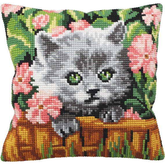 click here to view larger image of Minou (needlepoint kits)