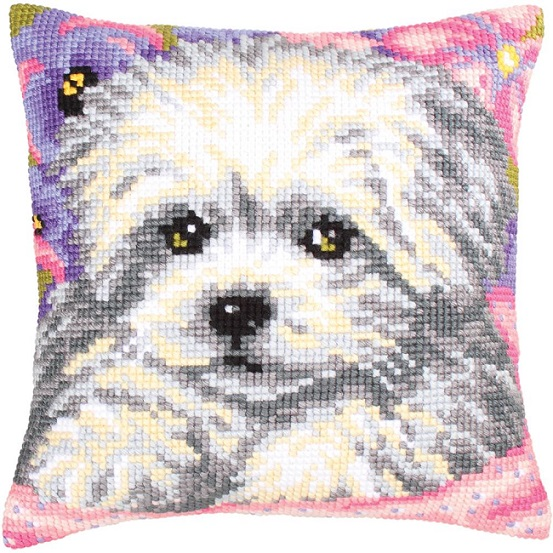 click here to view larger image of Little Doggy (needlepoint kits)
