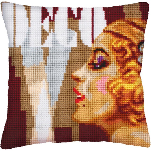 click here to view larger image of Art Deco II (needlepoint kits)