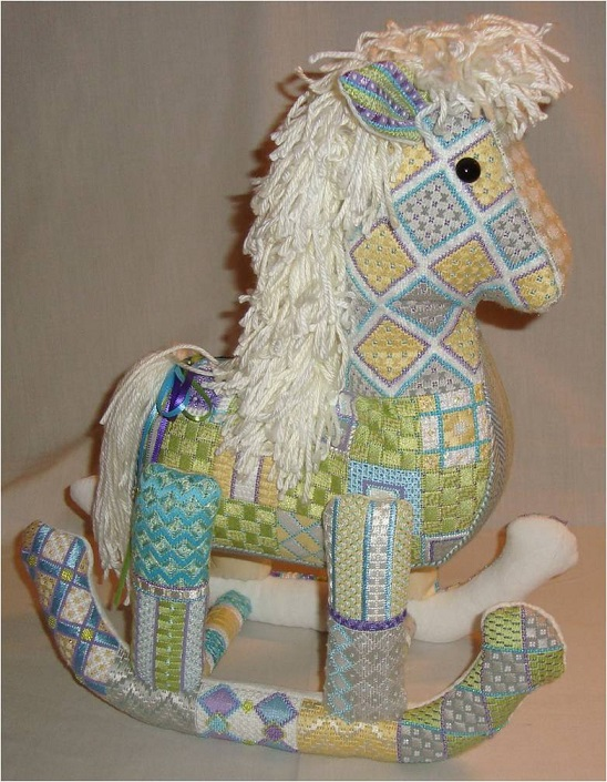 click here to view larger image of Baby Rocking Horse (hand painted canvases)