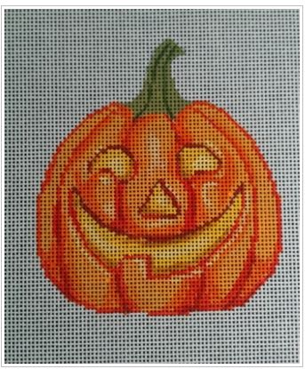 click here to view larger image of Jack-O-Lantern 1 (hand painted canvases)
