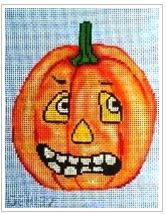 click here to view larger image of Jack-O-Lantern 2 (hand painted canvases)