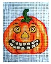click here to view larger image of Jack-O-Lantern 3 (hand painted canvases)