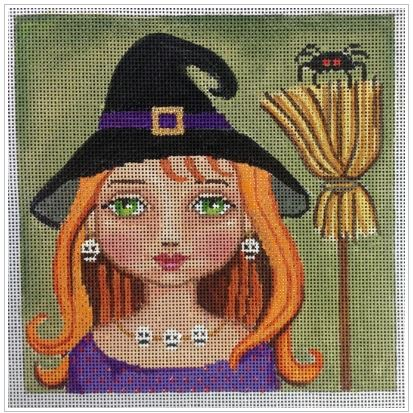 click here to view larger image of Witch Girl (hand painted canvases)