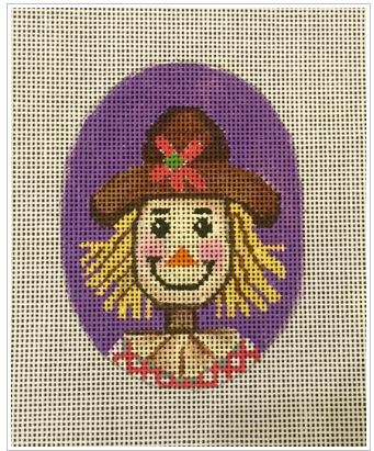 click here to view larger image of Mrs Scarecrow (hand painted canvases)