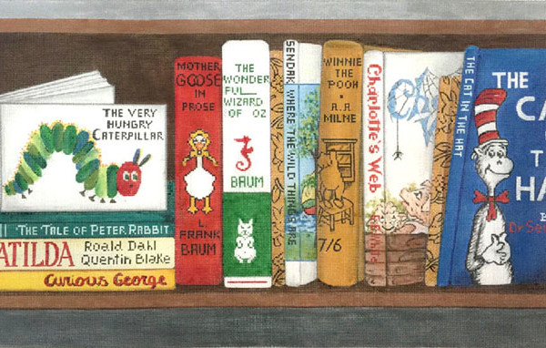 click here to view larger image of Childrens Classics Books (hand painted canvases)