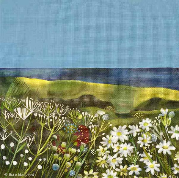 click here to view larger image of Seaside Meadow (hand painted canvases)