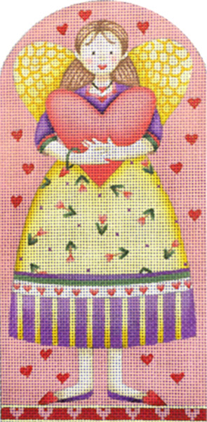 click here to view larger image of Valentine Girl (hand painted canvases)