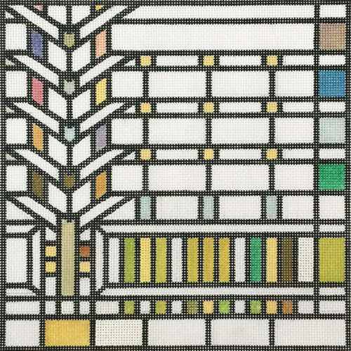 click here to view larger image of Darwin Martin Window - Frank Lloyd Wright (hand painted canvases)