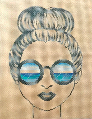 click here to view larger image of Womans View, A (hand painted canvases)