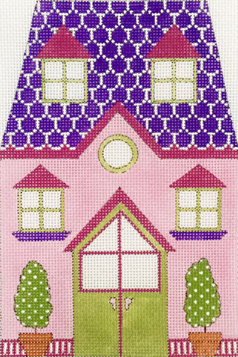 click here to view larger image of Pink Doll House (hand painted canvases)