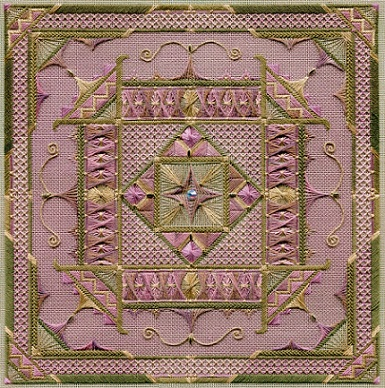 click here to view larger image of Arabesque (Includes Embellishments) (counted canvas work)