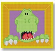 click here to view larger image of Green Monster (hand painted canvases)